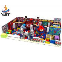 Best Funny Indoor Playground Flooring , Cute Soft Play Equipment For Home Use wholesale