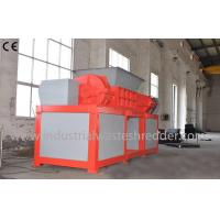 Best 2 Shaft Plastic Waste Shredder Low Energy Consumption For Drainage Pipes wholesale