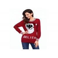 China Custom Knitting Pattern Ugly Christmas Sweater Europe Style Long Sleeve Pullover on sale