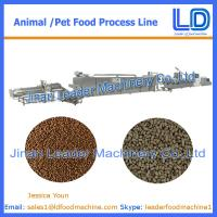 Best High Quality Cat,dog ,fish treats /pet food Processing Equipment wholesale