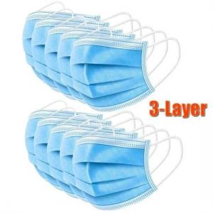 Best Health Protective 3 Ply Non Woven Face Mask dustproof For Blocking Dust Air wholesale