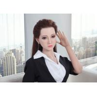 Best Silicone Sex Doll Asian Girl Adult Love Dolls 160cm Life Size Realistic doll with Implanted Hair wholesale