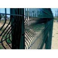 Best 3D Bending Welded Wire Mesh Panels PVC Security Fence Easy Installation wholesale