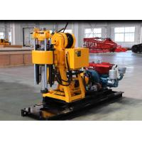 China Advanced Skid Type Core Drilling Rig With Hydraulic Customer Color on sale