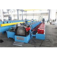 Cheap Upright Sheet Metal Forming Machine , Gutter Roll Forming Machine Gear Box for sale