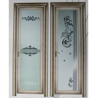 Best Champagne, grey evironment friendly aluminum hinged doors with custom design wholesale