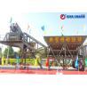 Buy cheap Twin Shaft Mobile Concrete Batching Plant , 35m3 / H Mobile Concrete Batch Mix from wholesalers