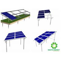China Power Energy PV Structure Mounting   Solar Panel Brackets / Solar Panel Angle Brackets High Corrosion Resistance on sale