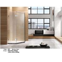 China Artificial Stone Tray Shower Door Enclosures Hinge Open Style Diamond Shape on sale