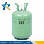 Best R290 Pure Gas 4.25 Mpa hydrocarbon HC Refrigerant as temperature sensing medium wholesale