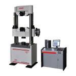Computerized Hydraulic Universal Testing Machine Worm Gear Drive 600 KN Capacity