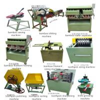 China bamboo toothpick making machine, toothpick production line on sale