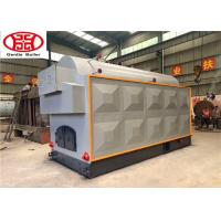 China Horizontal Wood Fired Steam Boiler Natural Circulation For Livestock Large Capacity on sale