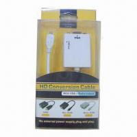 Best Micro HDMI to VGA Conversion Cable with Audio Output wholesale