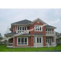Best Prefabricated Luxury Light Weight Customized Pre-Engineered Building Steel Villa House wholesale
