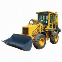 Best Backhoe Loader, Equipped with 4102BG Engine, 50kW Power, 1.0m³ Load Bucket, 0.25 Backhoe Bucket wholesale