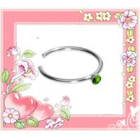 Best 316 stainess steel hot selling 16g nose piercing ring wholesale