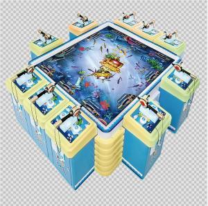 China 10 Players Kids Arcade Machine /  Indoor Fishing King 10p Amusement Arcade Game Machine on sale