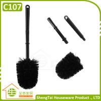China Toilet Brush Manufacturer Cheap Price Plastic Cleaning Brush With Plasin Handle on sale