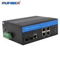 Best 4 Utp 2 Sfp Managed Industrial Switch wholesale