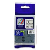 China Tze-231 printer label tape  12mm*8m black on white compatible for Brother P-touch labeller on sale