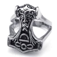 Best Tagor Jewelry Super Fashion 316L Stainless Steel Casting Rings Collection PXR006 wholesale