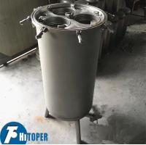 Best Large Capacity Multi Bag Filter Housing , Energy Saving Wastewater Filtration Machine wholesale