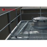 China Smooth Surface Welded Industrial Steel Grating Serrated For Drainage Cover on sale