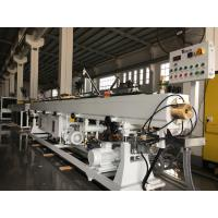 China Plastic HDPE PE LDPE PP PPR  PVC Pipe Extruder Machine/ Extrusion Line on sale