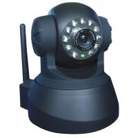 Best Plug And Play P2P Wireless Wifi IP Camera Pan / Tilt With SD Card wholesale