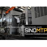 Best Mobile Cone Stone Crusher Machine Three - Spindle with 4-30 kw Vibrating Screen wholesale