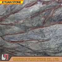 Indian Rainforest Green Marble Tiles Marble Stone Slab For Indoor Decoration