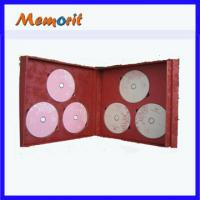 Best Customised 700MB/ 8.5GB CD DVD Replication With Cardboard Book Shape Packing wholesale