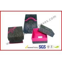 Cheap Customized Design Offset Printing Apparel Gift Boxes , Jewelry / Ring Gift Box for sale