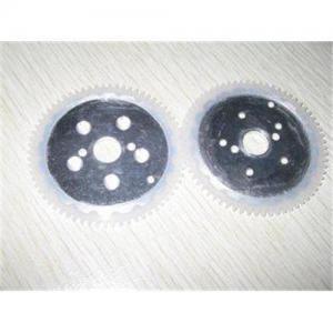 Best UV - Resistance Reach Legislation Silicone Rubber Gear Wheel Cover Aluminium Metal wholesale