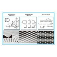 Best 6061 Rectangular Holes Perforated Aluminum Sheet With 2mm Hole Diameter wholesale
