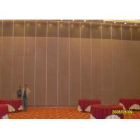 Best Hotel Sliding Partition Walls , Folding Wall  Sound Proof Door No Floor Track wholesale