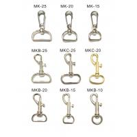 China Aluminum / Copper Heavy Duty Carabiner Clips Lobster Hook Free Sample wholesale