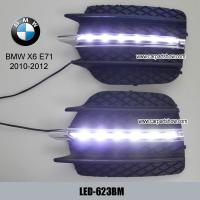 China BMW X6 E71 front driving daylight DRL LED Daytime Running Lights kit on sale