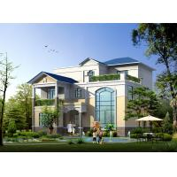 Best Prefabricated House, Prefabricated Rural Villa With Light Steel Frame wholesale