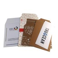 Best 100% Recycled Kraft White Paper Mailer Bag with Self-adhesive strip wholesale