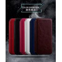China Book Cover IPhone Leather Wallet Case For Iphone 7 Plus Flip Stand Two Card Slot on sale