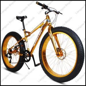 China 26 Aluminium Alloy Fat Tire Mountain Bike / Snow Bike on sale