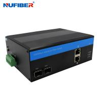 Best NuFiber 2 Poe 2 Sfp Port Switch Managed Industrial Poe Switch wholesale