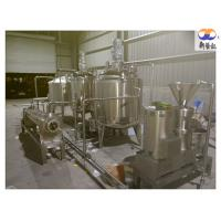 China Almond Nut Butter / Peanut Butter Processing Line Grinding Machine CE Approved on sale