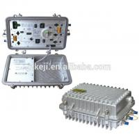 Best 1200~1600nm Wavelength Outdoor Optical Node 2 Way Optical Receiver With AGC wholesale