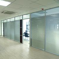 Best Wall Curtain / Office Aluminium Glass Office Partition , Aluminum Wall Partition wholesale