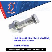 China High Strength Zinc Plated wheel Hub Bolt for Benz Actross on sale