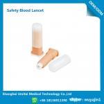 Best Easy Handling Disposable Blood Lancet For Blood Sugar Less Pressure Powder wholesale