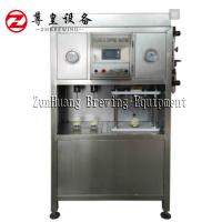 Best Electric Beer Can Filling Machine , Semi Automatic Beer Can Filler Easy To Operate wholesale